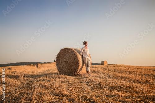Canvas Toscane Summer harvest