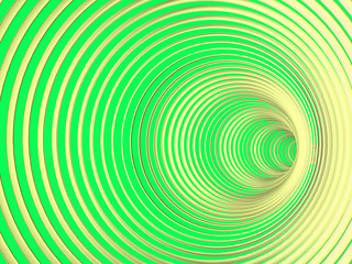 Abstract multicolored background with spiral tunnel. Illustration