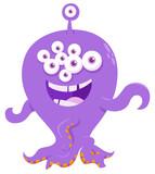 fantasy monster creature cartoon illustration - 213848050