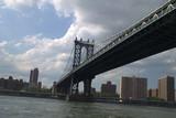 new york city skyline from river - 213885056