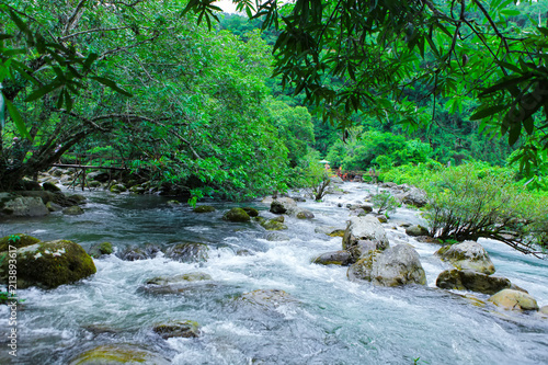 Nuoc Mooc spring - Mooc stream Phong Nha Ke Bang national park © Big Pearl