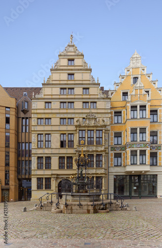 Foto Murales Holzmarktbrunnen in Hannover