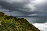Huge storm over the ocean - 213902047