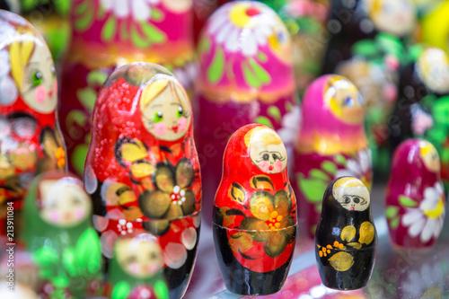 Matryoshkas in souvenir shop © robertdering
