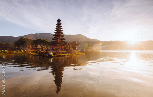 Plexiglas Bali beautiful views of Bali in the morning