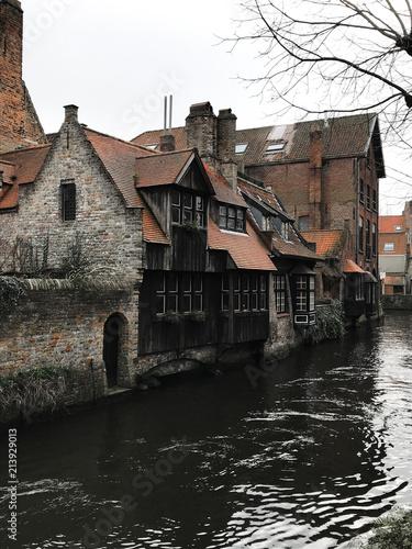 Foto Spatwand Brugge Brujas
