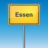 Ortsschild - Essen - 213947437