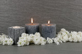 Brennende Kerzen - 213974441