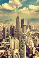 Cityscape of Kuala Lumpur, Malaysia. © Marek