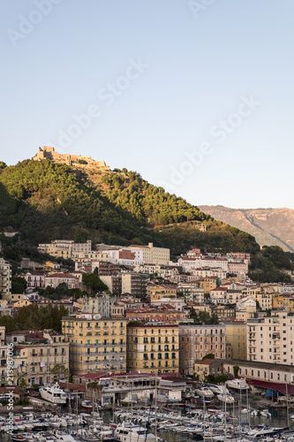View of the Amalfi Coast, Amalfi. region Campania, Italy - 213987006