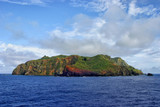 Pitcairn Island in the South Pacific ocean - 213994075
