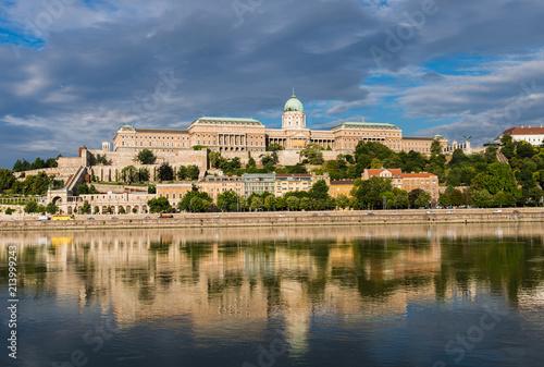 Fotobehang Boedapest Budapest – Burgberg mit Palast