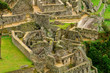 Temple of the Condor in Machu Picchu seen from above