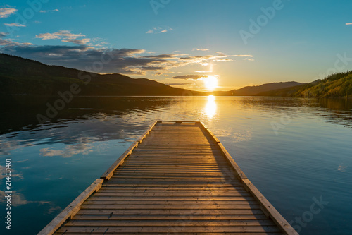 Acrylglas Pier Pier Sunsets