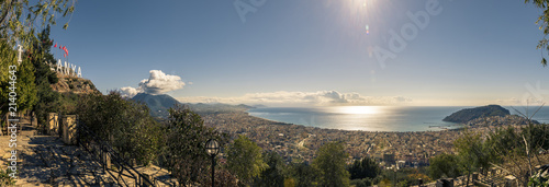 panaroma of cityscape Alanya Turkey - 214044643