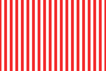 Stripe pattern red and white. Design for wallpaper, fabric, textile. Simple background