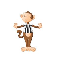 cartoon monkey cute © Hadi