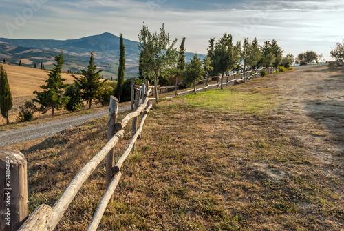 Fotobehang Toscane Toscana