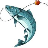 pesce che abbocca