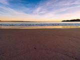 sunset of donegal beach,Ireland