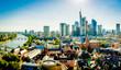 Leinwanddruck Bild - Frankfurt am Main - Germany