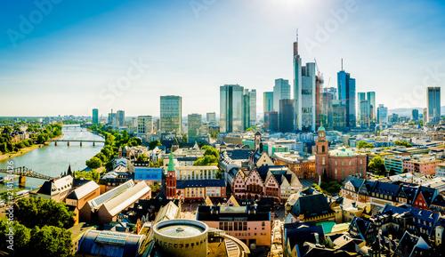 Leinwanddruck Bild Frankfurt am Main - Germany