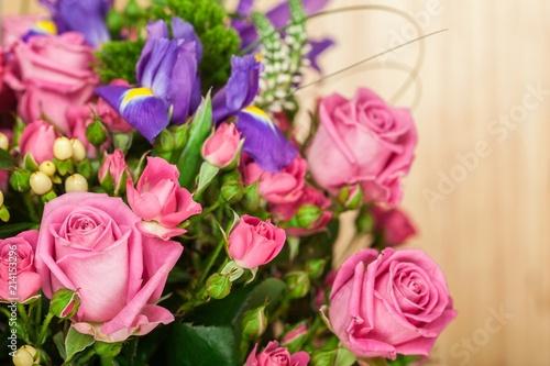 Foto Murales Closeup of a Flower Bouquet