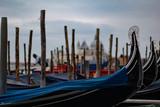 Venice. Gondolas