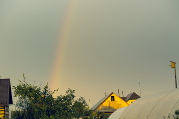 Rainbow in the sky © ads861