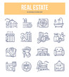 Real Estate Doodle Icons