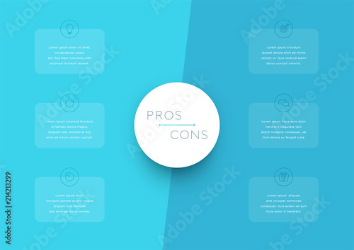 2 step pros and cons list infographic template buy photos ap