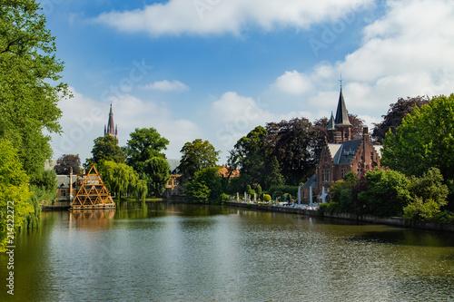 Foto Spatwand Brugge Brügge , Belgien