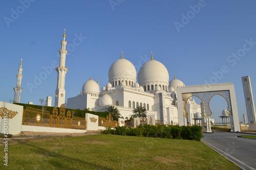 Foto Spatwand Abu Dhabi Travel to UAE