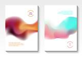 Flow design vector covers - 214249421
