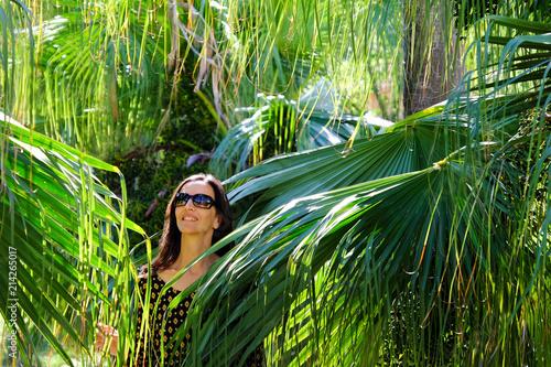 Plexiglas Palermo Jardin botanique