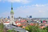 Top-view of Bratislava