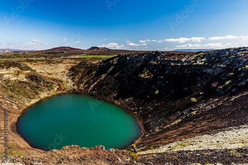 Foto Spatwand Chocoladebruin Iceland