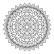 Decorative mandala design - 214291422