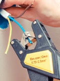 Electrician insulating electric wires of an electric box - 214300843
