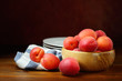 Apricots, still life