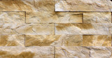 Orange facing stone, slate, sandstone and travertine marble texture