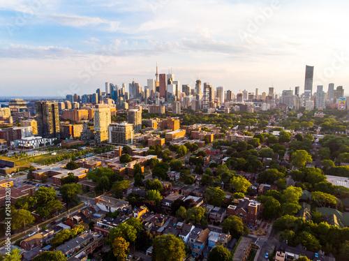 Canvas Toronto Aerial Toronto, Canada