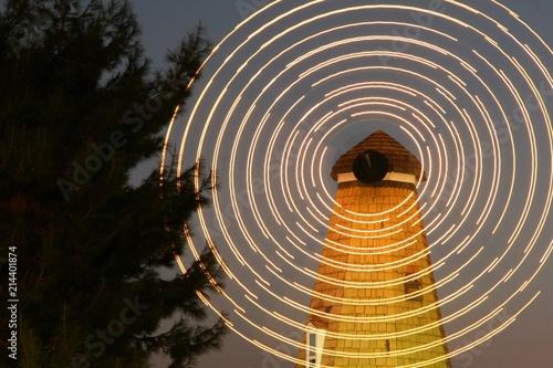 Windmill at Night 1