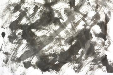 墨 抽象背景