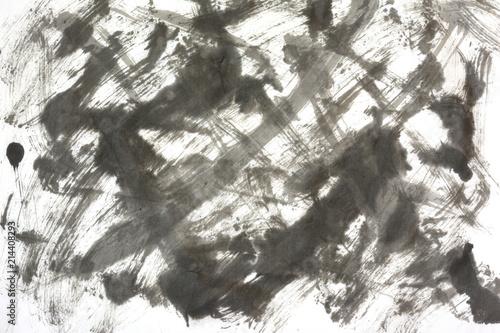 墨 抽象背景    - 214408293