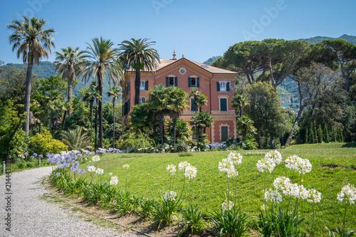 Fotobehang Liguria Bibliothek