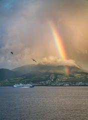 Regenbogen über St. Kitts © Lukas