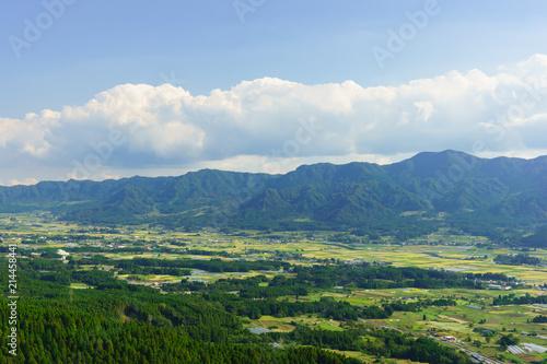 阿蘇 外輪山からの眺め