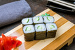 roll with cucumber