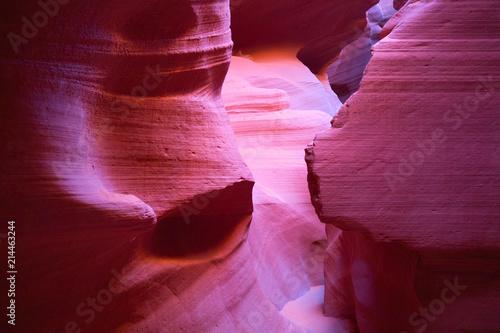 Fotobehang Bruin Antelope canyon